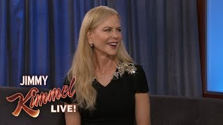 Nicole Kidman on Keith Urban, Kids & Playing Jason Momoa