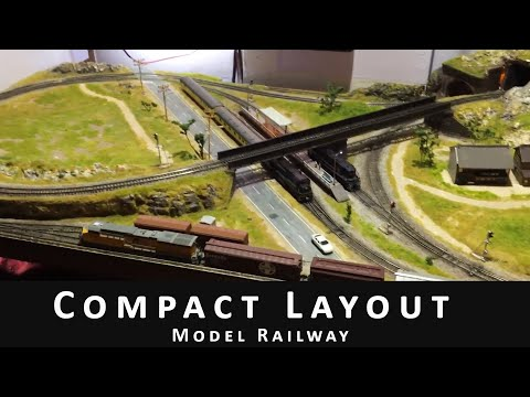 N Scale Layout (2 X 4 feet)
