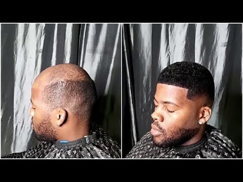 Man Weave Transformation 7 Cut By Oak The Master Barber