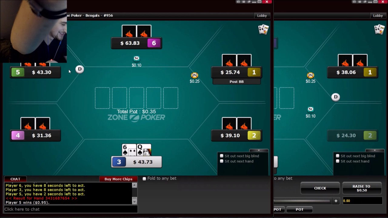 Zone Poker On Ignition