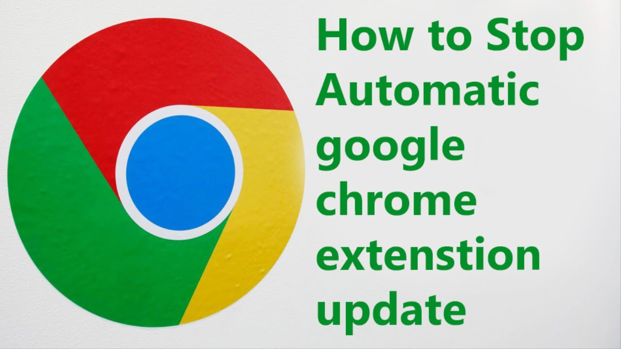 stop google extensions