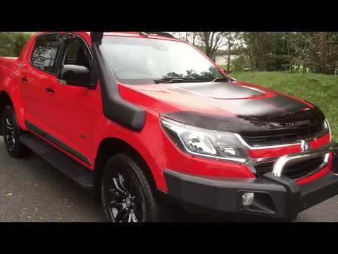 HOLDEN COLORADO Z71 DOUBLE CAB PICKUP ONLY ONE IN THE UK HD