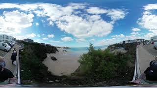 FULL 360° view from Aldi car park Newquay, Cornwall
