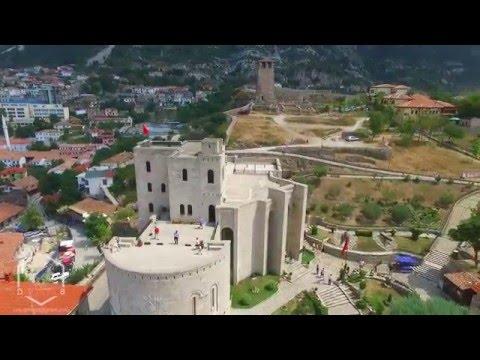 AMAZING aerial video Kruja Castle - DronAlb