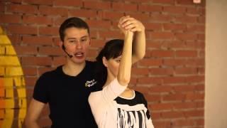 Сальса видео-урок от преподавателей школы кубаданса Пепо и Фидель (Челябинск)