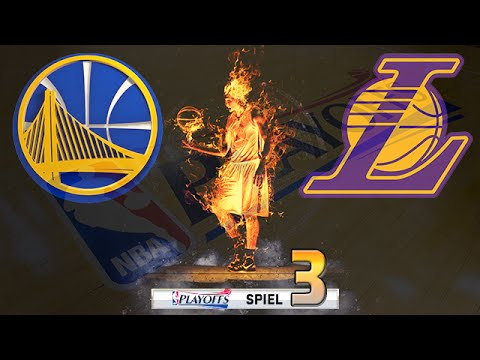 Let's Play NBA 2K16 Deutsch German [161] - Playoffs: Game 3 (vs. die Los Angeles Lakers)
