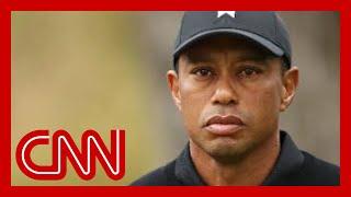Tiger Woods hospitalized after serious car crash