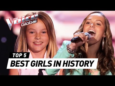 The BEST FEMALE Blind Auditions in The Voice Kids history