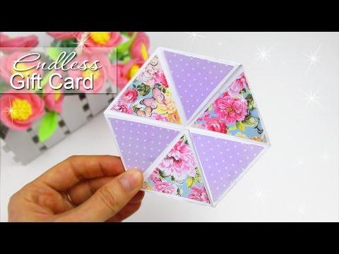 DIY HEXAFLEXAGON ENDLESS CARD EASY TUTORIAL