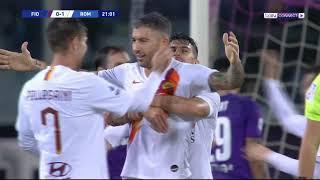 فيورنتينا 1-4 روما | روما يواصل نتائجه المميزة ويضغط على لاتسيو | الجولة 17