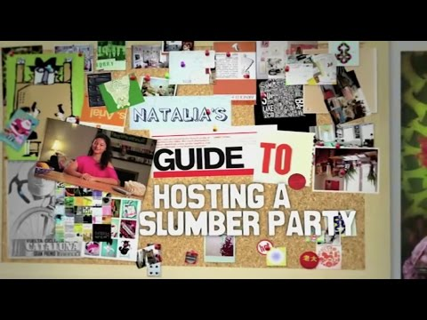 Guide to Hosting a Slumber Party (disney channel)