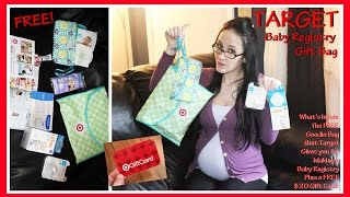 Target Baby Registry Gift Bag - What's Inside The Free Goodie Bag That You Get For Registering