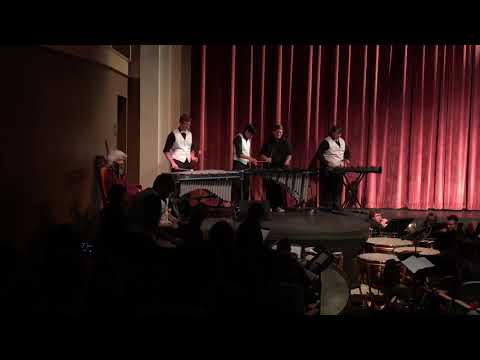 Ronan High School Percussion Ensemble - African Sunwalk