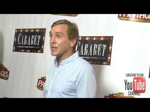 Scott Lowell at the Opening Of Cabaret At Hollywood Pantages Theatre