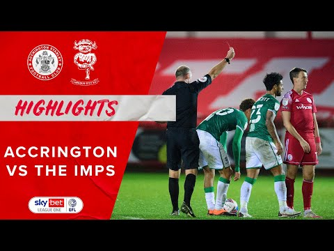 Accrington Lincoln Goals And Highlights