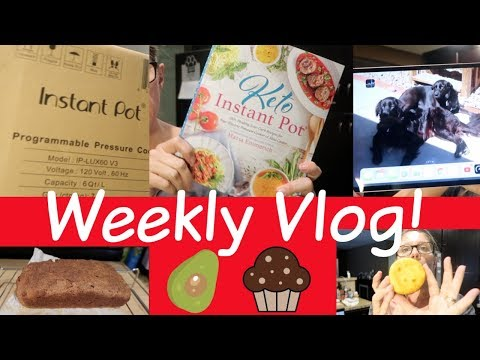 Weekly Vlog | Hectic Days | Grandma | KETO Bread and Muffins | New Gadgets!