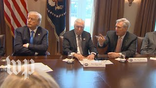 Feinstein, McCarthy disagree on immigration policy during meeting with Trump