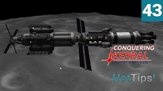 Kerbal Space Program [1.1.2] - Ep 43 - Mun Science Mission Part 2 - Let's Play