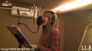 Repeat youtube video 베스티(BESTie) 유지 - 렛잇고(Let it go) (Frozen OST Cover)