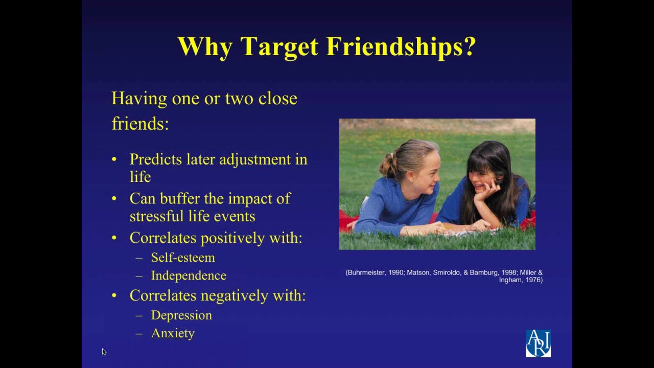 Evidence Basis for Teaching Social Skills | Autism Research
