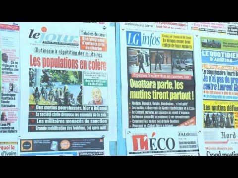 Cote d'Ivoire: situation calme à Abidjan après les mutineries