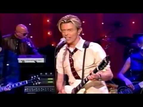 DAVID BOWIE LIVE! DAVID LETTERMAN - YouTube