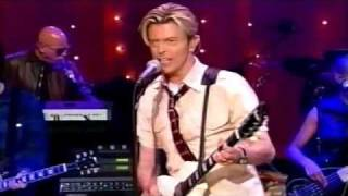 DAVID BOWIE LIVE! DAVID LETTERMAN