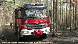 Pożary lasu w gminie Nowe Miasto nad Pilicą!