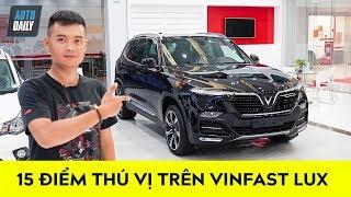 ĐỘT NHẬP showroom VinFast, BẬT MÍ 15 điểm thú vị trên Lux SA2.0 |Top Features on VinFast Lux SUV|
