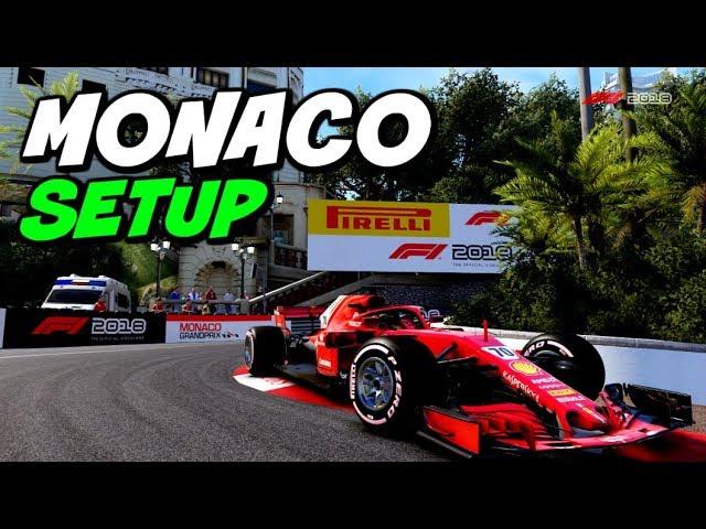 F1 2018 Monaco Hotlap Setup 1 07 752 Youtube
