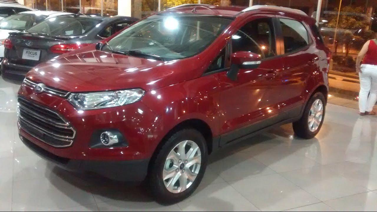 Ford ecosport 4x2 titanium at 2017 parte 1