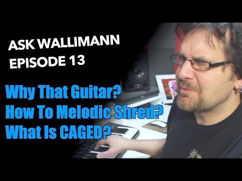 Guitar and gear, Melodic shred, CAGED system - Ask Wallimann #13