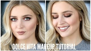 """The """"Dolce Vita"""" Makeup Look"""