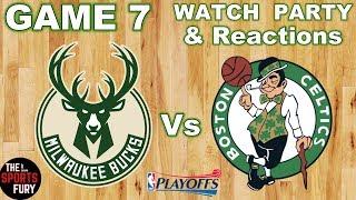 Bucks Vs Celtics Game 7   Watch Party & Reactions