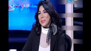 الفنانة (غادة إبراهيم) تبكي على الهواء وتنسحب من برنامج خالد صلاح وتوجه رسالة شديدة اللهجة للفنانة (إلهام شاهين)