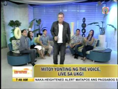 Mitoy of 'Voice PH' belts out 'Bakit Ako Mahihiya' on 'UKG'