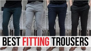BEST FITTING TROUSERS FOR MEN IN 2018 (River Island, Burton, New Look, Asos)