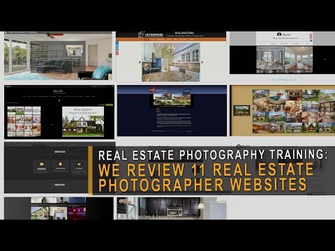 11 real estate photographer websites reviewed - Build A