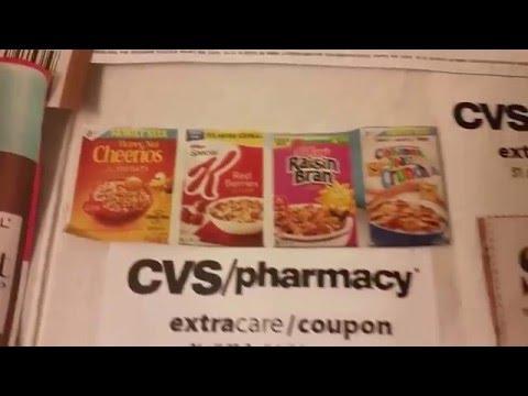 """Cvs """"Spend the  $30 dollars coupons Sunday April 17 , 2016"""