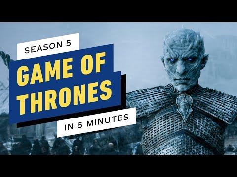 Game of Thrones Season 5 Story Recap in 5 Minutes
