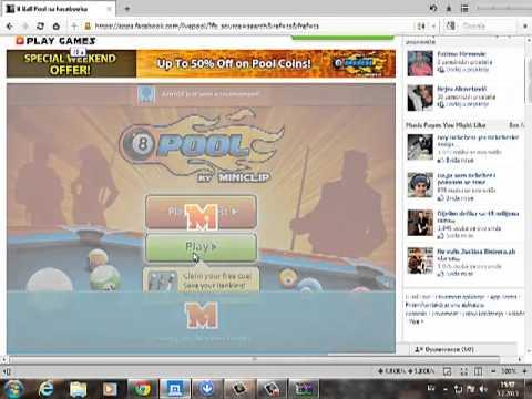 cheat za bilijar na Facebook-u from YouTube · Duration:  5 minutes 36 seconds