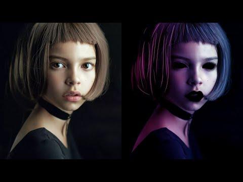 Красивый эффект неонового свечения | Обработка фотографии в Photoshop CC 2020