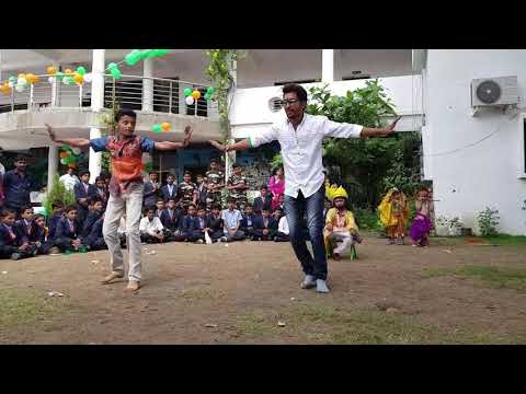 JANMASTAMI CELEBRATIONS IN HOLY..DANCE PERFORMANCE OF OUR TEACHER AND A STUDENT