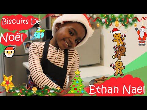 recette-biscuits-de-noël---ethan-nael- -tuto-cuisine-facile-enfant
