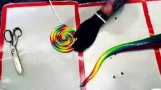 Satisfying candy making!!!