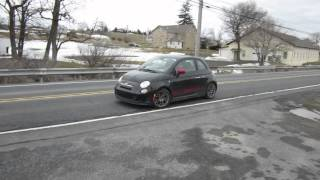 CBTuning.net - Custom 3 inch exhaust on fiat abarth
