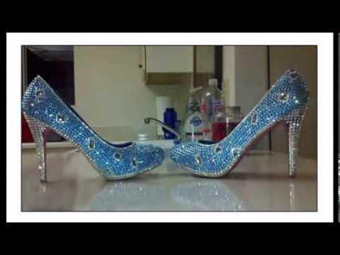 Как сделать шикарные туфли со стразами - мастер класс