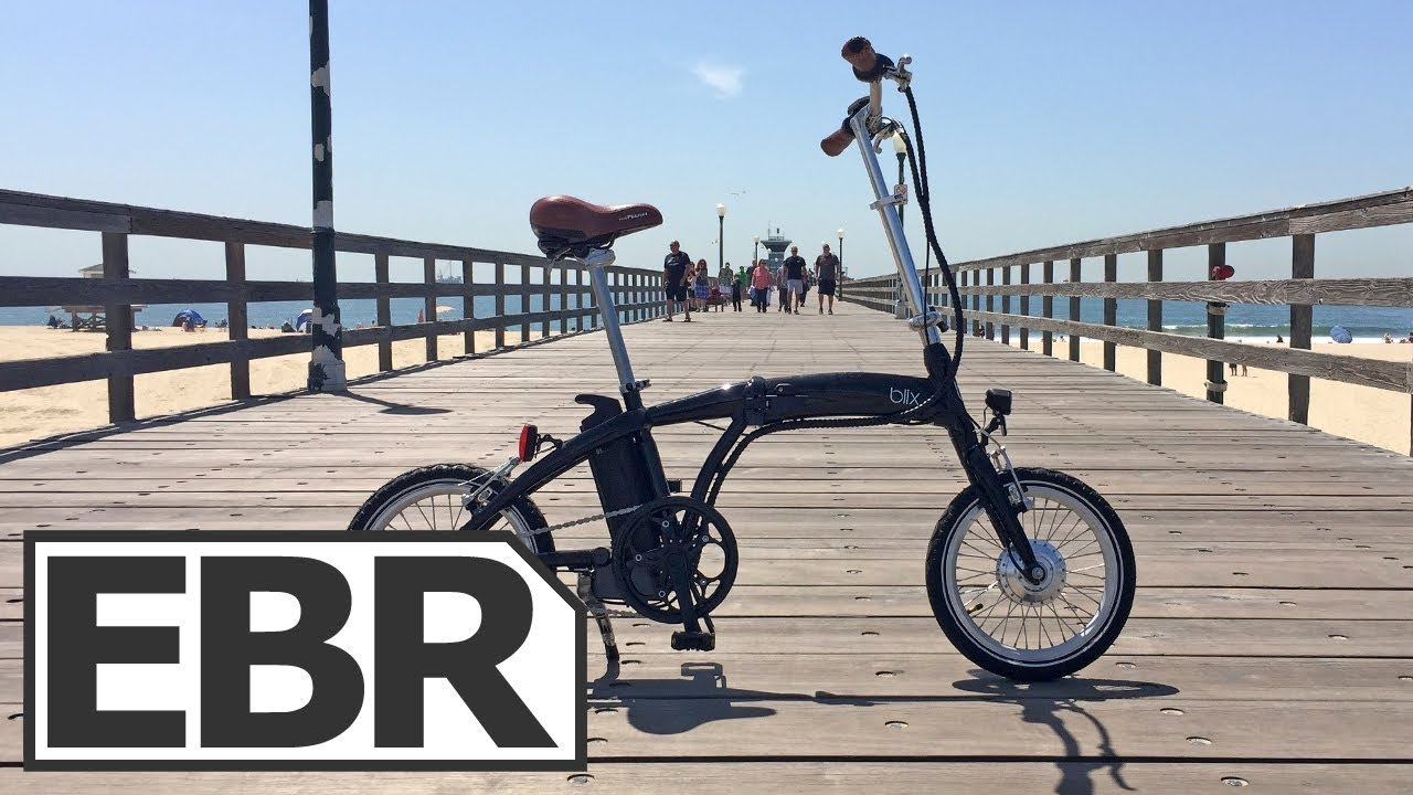 f1feafe2d8f Blix Vika Travel Video Review - $1.5k Small, Lightweight, Folding Electric  Bicycle