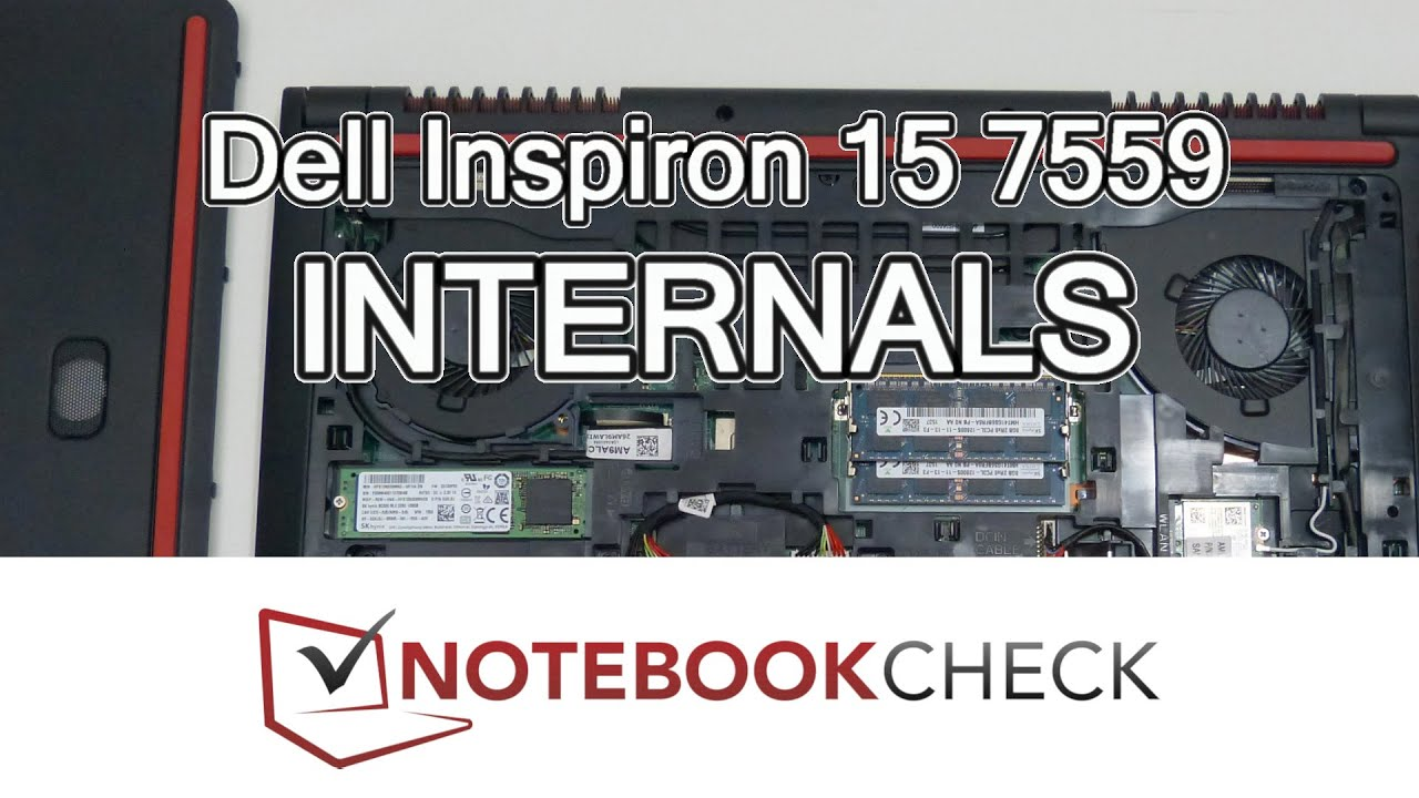 Dell Inspiron 15 7559 Internals and upgrades