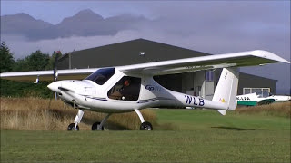 Skyleader GP One light sport aircraft - flying in NZ at Lake Manapouri
